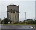 TL2140 : Water tower near Edworth by Stephen Richards