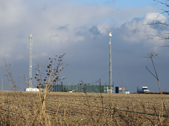 Telecomm Masts near Worlaby