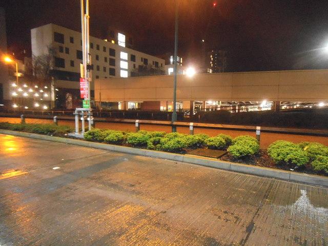 Asda petrol station and car park, Colindale