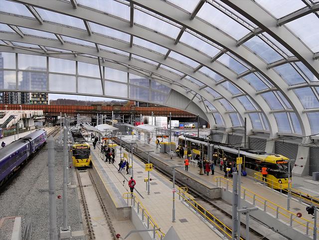 Metrolink Platforms At Victoria Station U00a9 David Dixon  Geograph Britain And Ireland