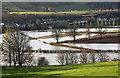 NT5634 : Flooded farmland at Gattonsidehaugh : Week 49