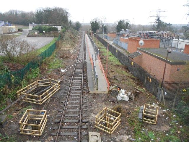 Croxley Rail Link (11): Former Watford Stadium Halt