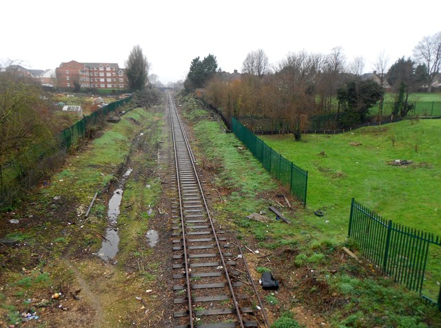 Croxley Rail Link (12): Site of the proposed Watford Vicarage Road Station