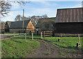 TL3053 : Longstowe: byway at Copy Yard Farm by John Sutton