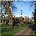 TL3053 : Longstowe: Bellams Farm by John Sutton