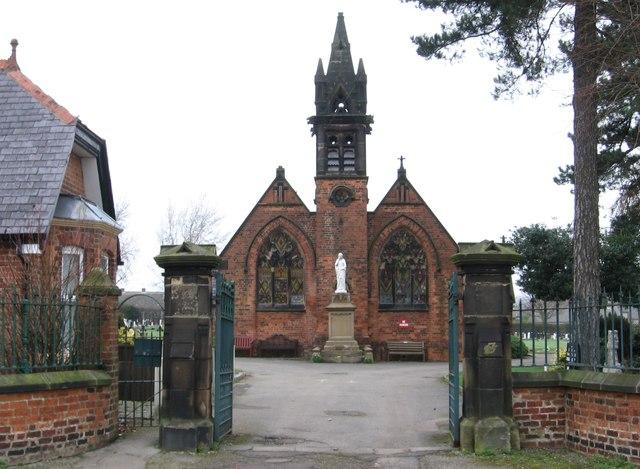 Danesmoor - Cemetery Gates, Memorial and Chapel