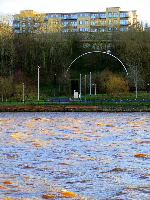 Rolling Moon, Gateshead Riverside Park