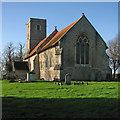 TL6149 : West Wickham: St Mary by John Sutton