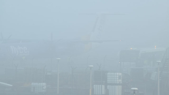 Fog, George Best Belfast City Airport (December 2015)