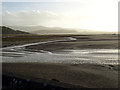 SH5737 : Sandbanks viewed from The Cob : Week 51