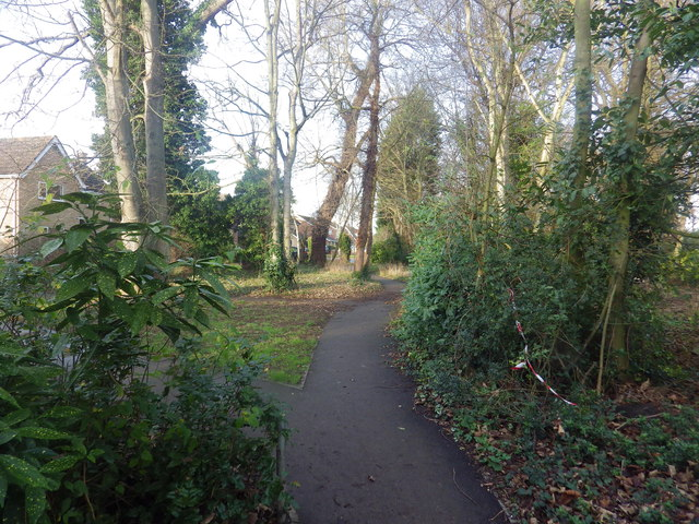 Footpath through Great Barton