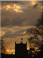 SD4972 : Sunset over St Oswald's by Karl and Ali