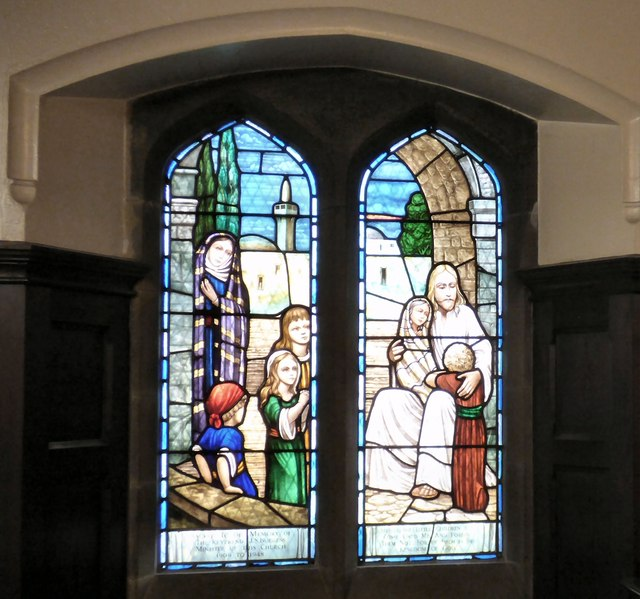 Children S Chapel Stained Glass Window 169 Gerald England