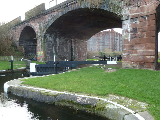 Lock 3, Liverpool Link Canal