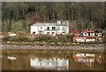 NZ1565 : Riverside buildings at Ryton : Week 1