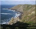 SW7716 : Dinas Cove by Shaun Ferguson