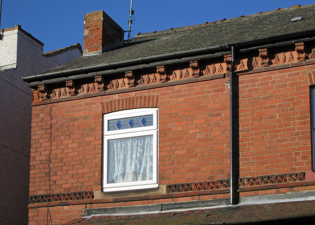 Sutton-in-Ashfield - Vere Avenue brickwork