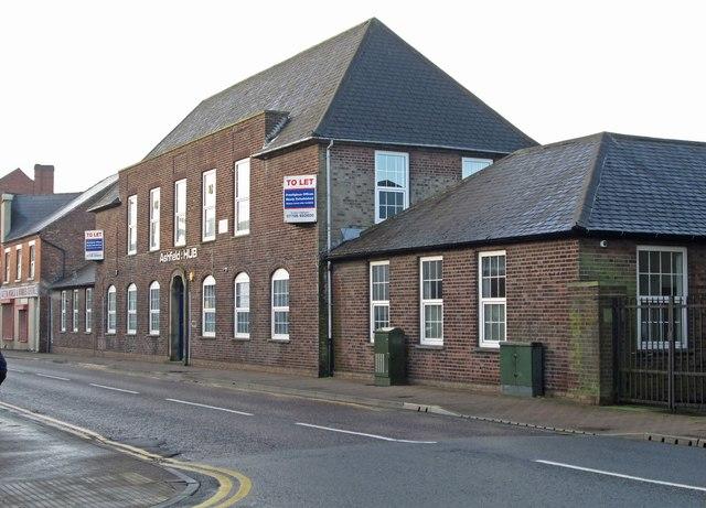 Sutton-in-Ashfield - former Labour Exchange