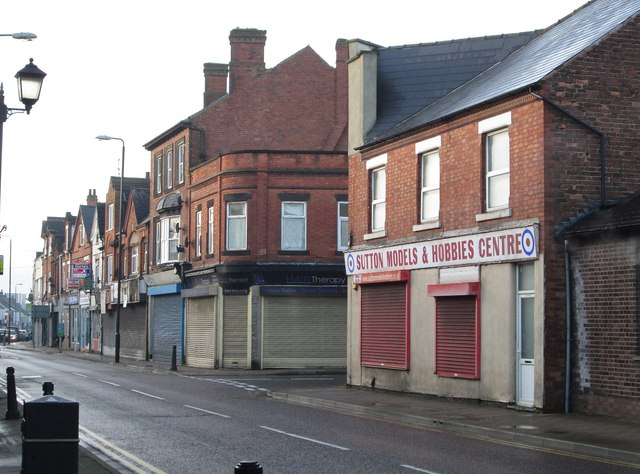 Sutton-in-Ashfield - west side of Outram Street