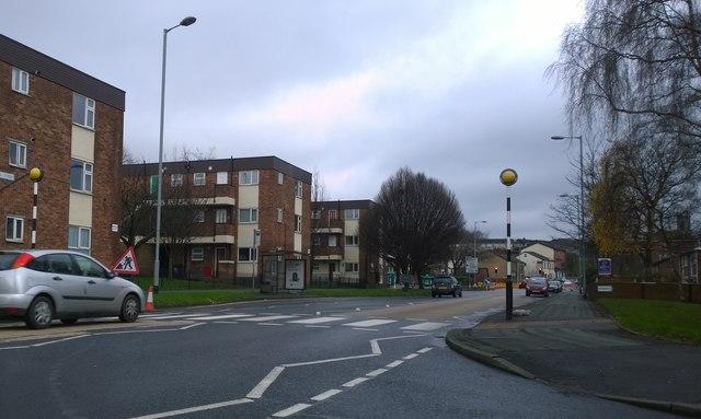 High Street from Peel Street