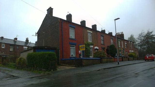 Houses on Warren Lane, Glodwick