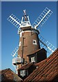 TG0444 : Windmill, Cley : Week 52