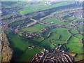ST6570 : Longwell Green from the air by M J Richardson
