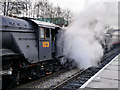 SD8010 : 103 Flying Scotsman at Bury - January 2016 by David Dixon