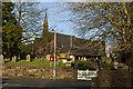 SJ4974 : St John's Church at Alvanley by Ian Greig