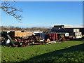 TL5071 : Farm machinery at Chear Fen Farms by Richard Humphrey