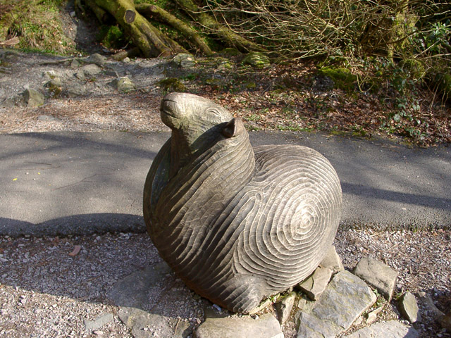 """""""Sethera"""", Grizedale Forest sculpture (1)"""