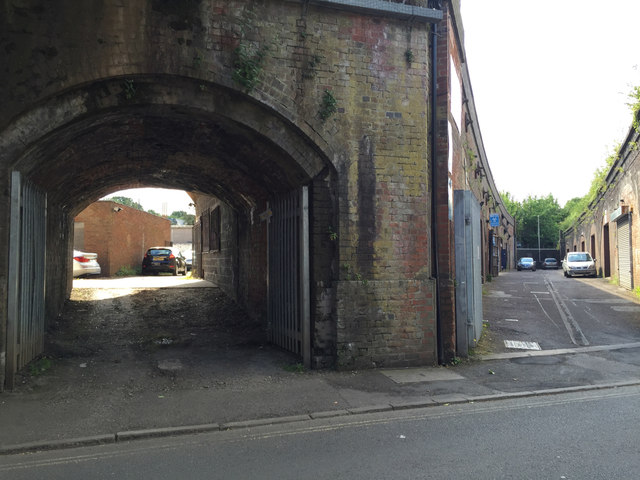 Railway Arches Off Bath Place Royal Robin Stott Cc By Sa 2 0 Geograph Britain And Ireland