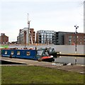 SJ8598 : Lancashire Lass at New Islington  by Gerald England