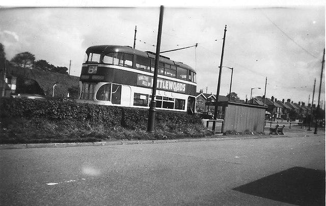 6A Tram at Bowring Park Terminus