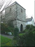 SW7340 : The detached bell tower, St Wenappa's Church, Gwennap by Humphrey Bolton