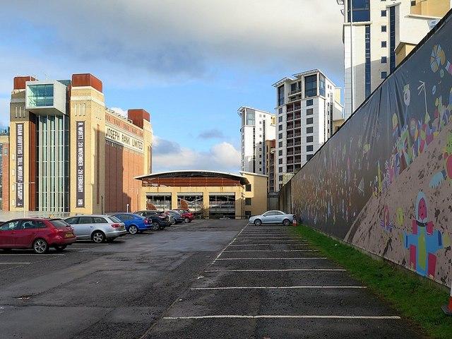 Gateshead Baltic Car Park
