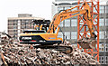 J3374 : The Orpheus Building (demolition), Belfast - January 2016(11) by Albert Bridge