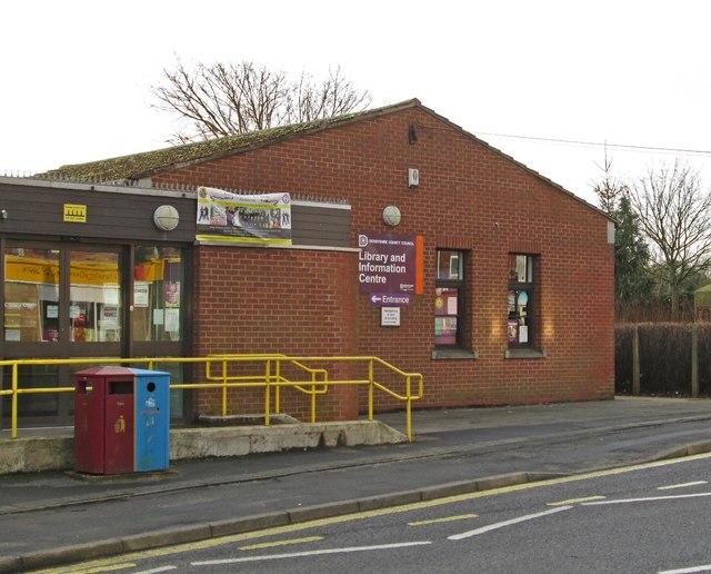 Holmewood - Library on Heath Road