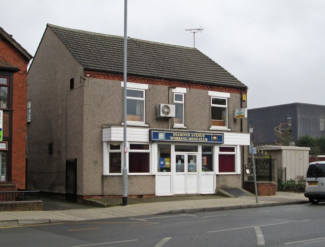 Kirkby-in-Ashfield - Diamond Avenue Working Mens Club