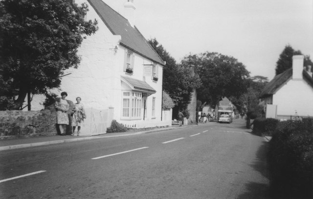 A Guesthouse in Godshill c.1965
