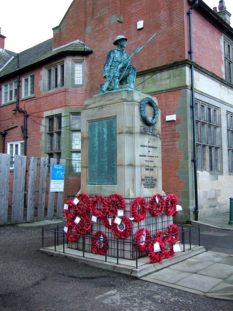 War Memorial, Shildon