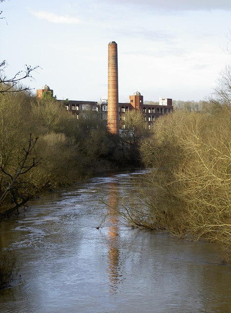The chimney in the Avon