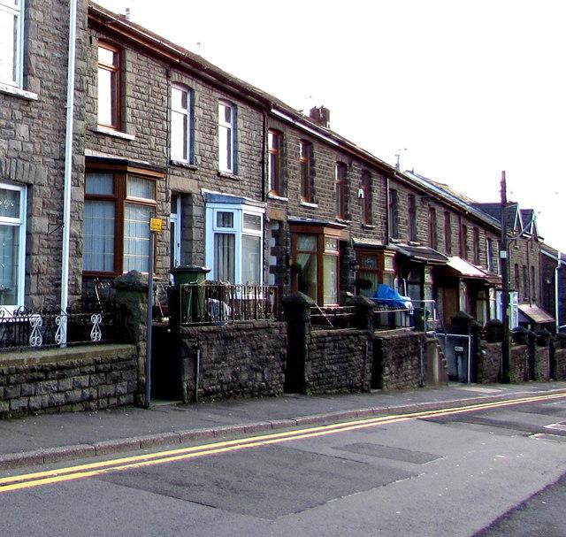 In Abercynon Rhondda Cynon Taf: Glancynon Terrace Houses, Abercynon © Jaggery Cc-by-sa/2.0