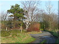 SE0222 : Junction of Poverty Lane with Kennel Lane, Sowerby by Humphrey Bolton
