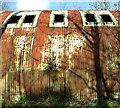 TF9014 : Nissen hut-type building (detail) : Week 5
