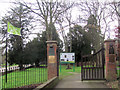 SP9211 : A Green Flag for the Tring Memorial Garden by Chris Reynolds