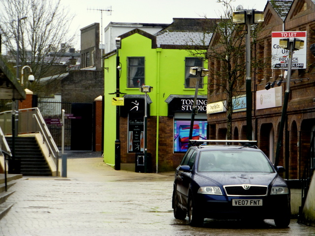Old Market Place, Omagh