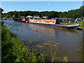 SJ6872 : Narrowboats moored along the Trent & Mersey Canal by Mat Fascione