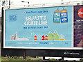 J3474 : Fred Olsen cruise poster, Belfast (February 2016) by Albert Bridge