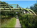 SJ6575 : Pipe bridges crossing the Trent & Mersey Canal by Mat Fascione